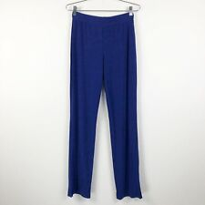 Travelers by Chico's Womens Pants Size 0 Small Blue Tall Slinky