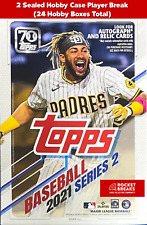 BUBBA STARLING 2021 TOPPS SERIES 2 - 2 HOBBY CASES (24 BOXES) PLAYER BREAK #1