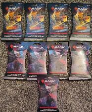 (9packs)magic the gathering Dungeons & Dragons booster packs