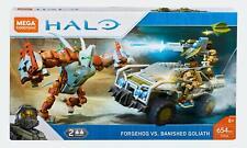 Mega Bloks Halo Mega Construx Forgehog vs Banished Goliath Set FVK36 2018 654pcs