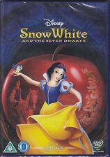 Snow White and the Seven Dwarfs (Disney Animated Classic) New & Sealed UK R2 DVD