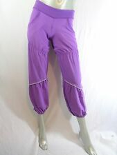 Ivivva Lululemon Purple Snap Cuff Pants Sz 10 Run Reflective