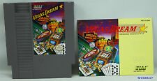 Vegas Dream NES Nintendo Entertainment System Game 1990 with Manual