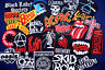 RANDOM 10 pcs Lot Iron On Patch Patches Band Music Rock N Roll Heavy Metal