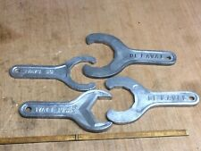 Vintage Lot Of 4 De Vaval Dairy Wrenches