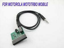 Cable for Motorola Mototrbo Mobile use Cross Zello & roip radio-tone controller