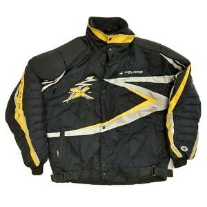 Polaris Mens LT Large Tall Snowmobile Jacket Edge Edge X Padded Black Thinsulate