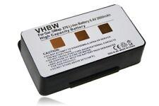 Akku Navi Batterie [2600mAh] für GARMIN GPSMap 478, 496, 010-10517-00, 010708000