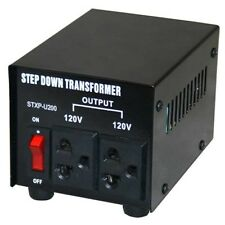200W 240V to 120V Step Down Transformer USA to Australian Voltage Converter