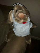Vintage 1981 Ganz Bros Wrinkles 18� Shar-Pei Plush Dog Hand Puppet Outfit! Look!