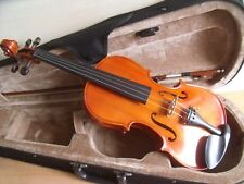 STUDENT VIOLIN 3/4 SIZE CASE & BOW IDEAL STARTER INSTRUMENT EXCELLENT CONDITION