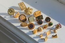 Lot of 35 Grams of GOLD FILLED Vintage Antique Jewelry Pins Wearable or Scrap