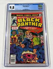 Black Panther #1 (1977) CGC 9.8 - White Pages - Jack Kirby