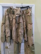 Set Desert Camouflage Gore Tex Parka & Pants Large Long!