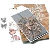 Stanzschablone Schmetterling Hochzeit Weihnachts Oster Geburtstag Karte Album