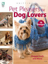 Pet Pleasers for Dog Lovers Knitting Patterns Sweaters Bag Clothing HOWB NEW