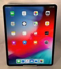 Apple iPad Pro 12.9-inch 3rd Gen. 256GB Space Gray Unlocked Excellent Condition