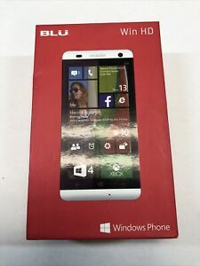 BLU WIN HD Windows Smartphone (White) Brand New W510L
