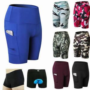 Womens Mens Cycling Biker Shorts Pants Running Casual Joggers Walking Activewear