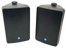 New listing 2 Atlas Sound Strategy Series Sm52-B 2-Way 100 Watt Indoor Outdoor Speaker
