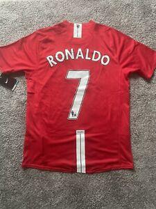 Manchester United 2007/08 Cristiano Ronaldo #7 Home Shirt (L)