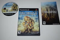 Final Fantasy XII Playstation 2 PS2 Video Game Complete