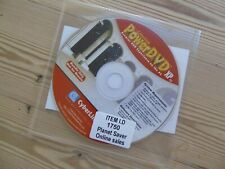 Cyberlink Power DVD XP 4.0 with product key original reinstall disc #1750