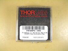 Thorlabs  F810APC-842  P = 842nm f = 36.18mm NA = 0.25 FC/APC Fiber Collimation