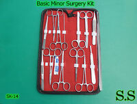 Set of 14 Pieces Basic Minor Surgery Kit Surgical instruments SK-14