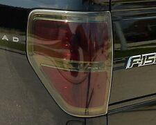 2009-2014 FORD F150 SMOKE TAIL LIGHT PRECUT TINT COVER SMOKED OVERLAYS