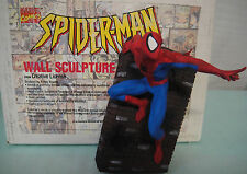 BOWEN & CREATIVE LICENSE SPIDER-MAN WALL STATUE SCULPTURE NEW! Figurine Bust