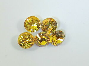 12pc 39ss SUNFLOWER FOILED POINTED BACK European Rhinestones