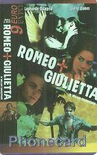 RARE / CARTE TELEPHONIQUE - LEONARDO DICAPRIO : ROMEO ET JULIETTE / PHONECARD