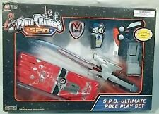 Power Rangers SPD Ultimate Role Play Set  Morpher  Shadow Saber  Gloves (MISB)