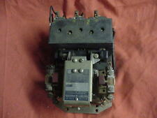 Square-D Limited D0-1 E4313 S2 15HP 3-Phase Contactor Clausing Colchester Lathe