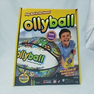Ollyball The Ultimate Indoor Play Ball color yourself On Ball Brand New