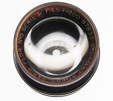 Som Berthiot No.5 Series 1c 200mm f4.5 Flor Barrel Lens  #97838