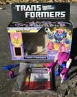 G1 TRANSFORMERS 1988 Headmaster SQUEEZEPLAY COMPLETE W/ BOX, STICKERS, BOOKLETS For Sale