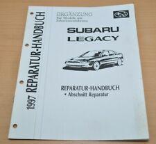 SUBARU Legacy Modelle mit Zahnriemenführung 1997 Werkstatthandbuch Ergänzung