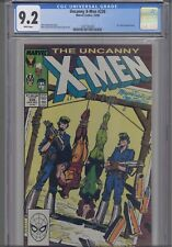 Uncanny X-men #236 CGC 9.2 1988 Marvel Comic: Wolverine Strung UP! NEW CGC FRAME