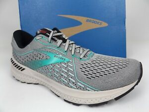 Brooks Adrenaline GTS 21 Women's Running Shoes, Size 10.5 BM, Gray-Green  20813