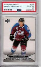 2011 Upper Deck Young Guns Gabriel Landeskog #208  Rookie RC PSA 10 Gem Mint