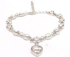 Swarovski Crystal Silver Plated Costume Bracelets