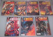 CONAN (deutsch) # 1+2+3+4+5+6+7 KOMPLETT - GENERATIONS/Panini 2001 - TOP