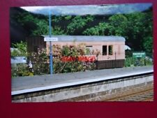PHOTO  ST GERMAN RAILWAT STATION EX LSWR LUGGAGE VAN USED AS A HOLIDAY HOME