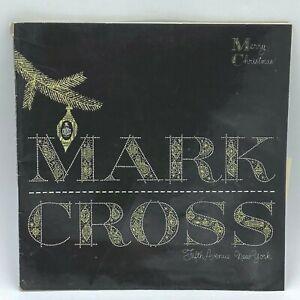 Vintage 1953 Mark Cross Catalog Christmas Luxury Leather Goods 5th Ave NYC BK16