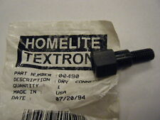 NEW HOMELITE DRIVE CONNECTOR     P/N 00490