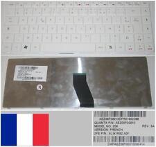 Clavier Azerty Fr ACER eMachines D720 4405C Z06 9J.N1R82.A0F AEZ06F00010 Blanc