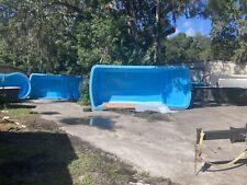fiberglass pool 13.2 x 7.1 X 3.3