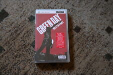 Green Day Sony PSP UMD Video Movie Bullet in a Bible no lp Collector rare item